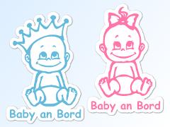 1a Babyaufkleber