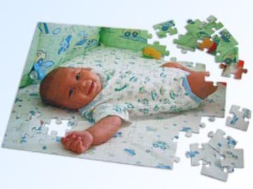 ihr foto als puzzle online bestellen foto puzzle baby individuell angefertigte. Black Bedroom Furniture Sets. Home Design Ideas