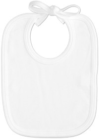 Imprinted Bib - White