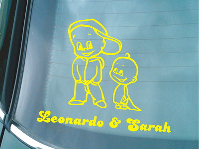 Siblings Sticker