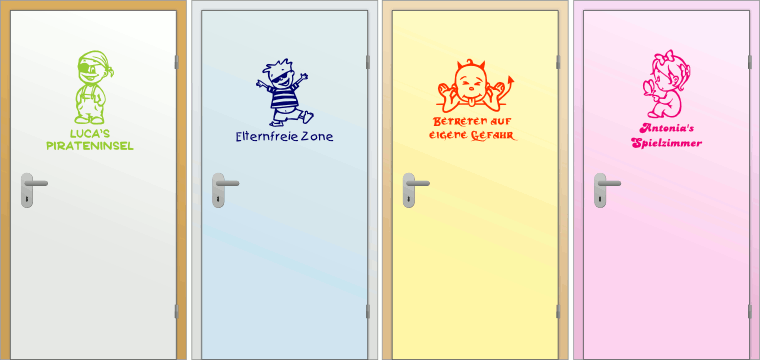 Door Stickers