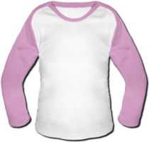 Windel Winni Baby Baseball Shirt - Pink
