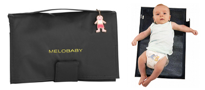 MELOBABY all-in-one - Melonoir (black & charcoal)