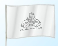 Baby Flag with normal imprint