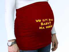 Belly Band with Text