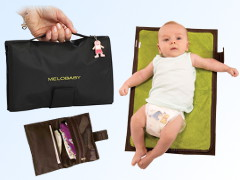 MELOBABY all-in-one Windeltasche + Wickelmatte